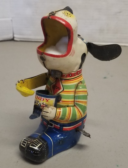 "Vintage ""Mechanical Candy Loving Canine"" Wind-Up T"