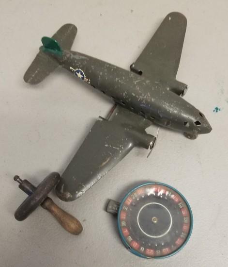 Vintage Tin Toys (3-Pieces)