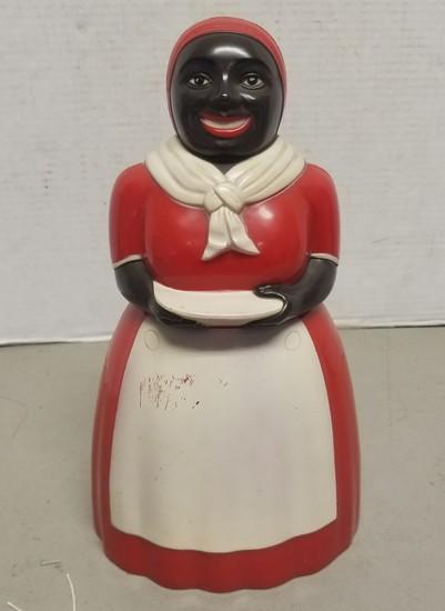 Vintage Aunt Jemima Plastic Cookie Jar