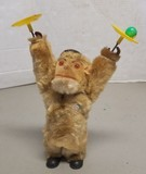Vintage West Germany made Wind-Up Monkey with Orig