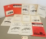12 Vintage Allis Chalmers Manuals & Part Catalogs