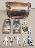 Assorted Star Wars Figurines