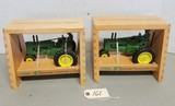 2 - ERTL John Deere 40th Anniversary Tractors