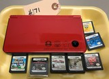 DSI XL Anniversary Edition & 7-Games with Stylus