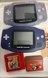 2 - Game Boy Advances with Drill Dozer & Pokemon