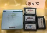Game Boy Advance SP & 4-Final Fantasy Games
