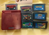 Game Boy Advance SP & 7-Games
