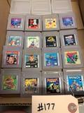 16 - Game Boy Games