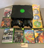 Xbox, 2-Controllers and 10-Games