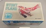 Vintage Sears Big Toy Box Tin Stunt Plane