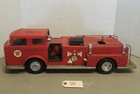Texaco Fire Chief Metal Toy Fire Truck