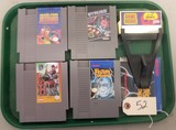 4 - NES Video Games & A Game Genie