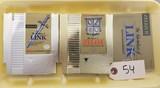 Zelda & Zelda II NES Games with Manual