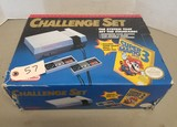 NES Challenge Set in Box with Game