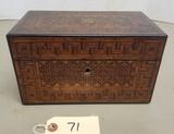 Vintage Wooden Inlay Box