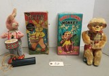 (2) Vintage Battery Operated Toys