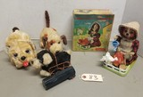 (4) Vintage Battery Operated Toys