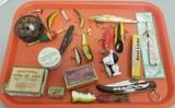 Large Assortment of Vintage Fishing Equipment