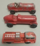 (3) Hubley Toy Cars