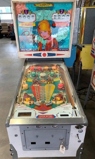 """Williams """"Pretty Baby"""" Pinball Machine"""