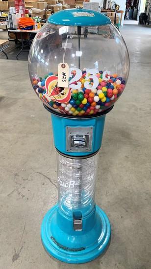 25 Cent Gumball Vending Machine