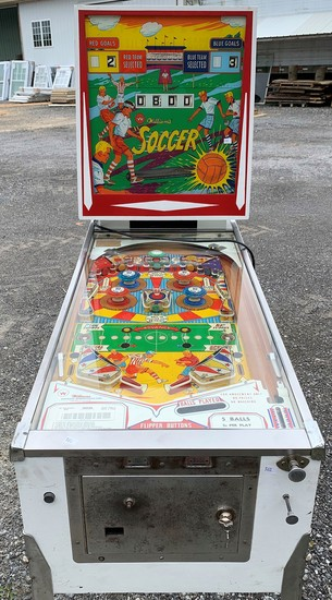 Williams Soccer Pinball Game