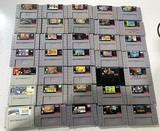 (35) SNES Games Zelda, Mario Kart, & More