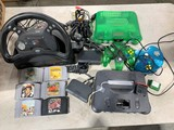 2 Nintendo 64 Game Systems with 6 Games