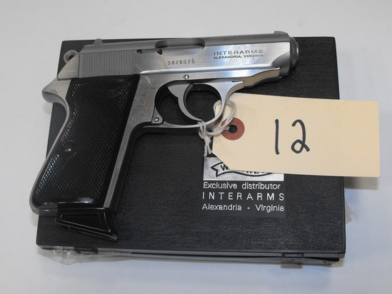 (R) Walther PPK/S 9MM Pistol