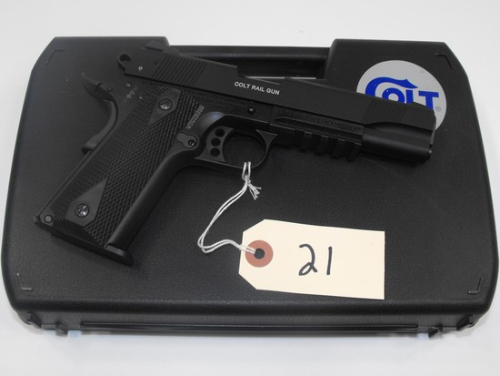 (R) Walther Colt Rail Gun Government 22 LR Pistol