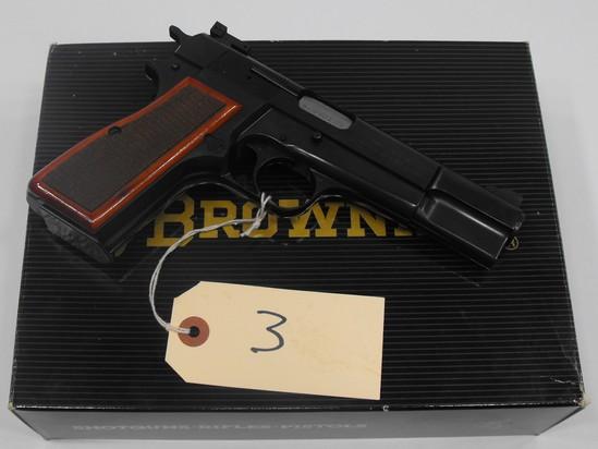 (R) Browning High Power 9MM Pistol
