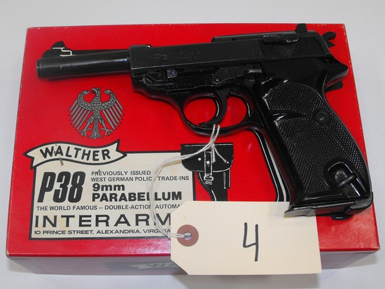 (CR) Walther P1 9MM Pistol