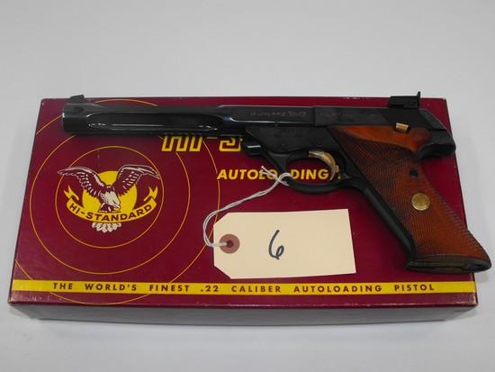 (R) Hi Standard 104 Supermatic Trophy 22 Pistol