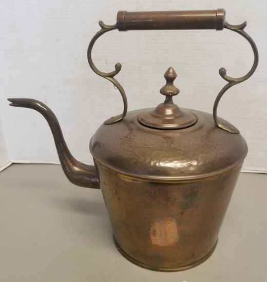 Vintage Brass Pot with Handle,