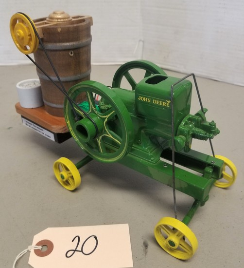 Die Cast Model Hit and Miss Ice Cream Maker,