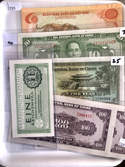 Foreign Notes, high quality,