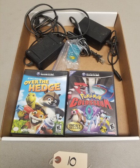 Gamecube Games, Power Supplies, Memory Card
