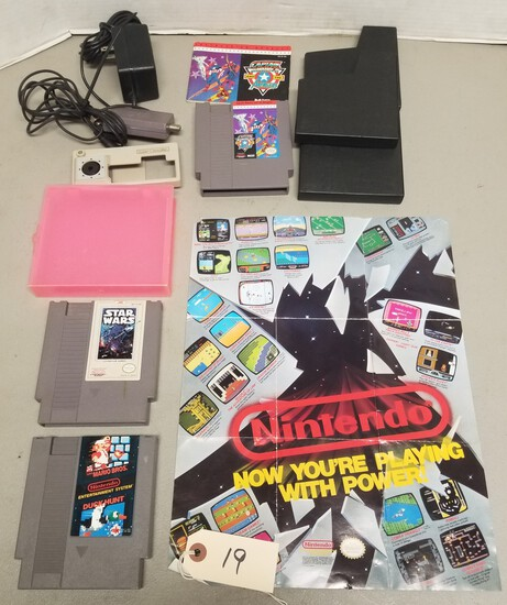 Assorted NES Gaming Lot