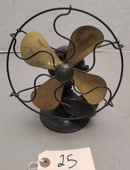 "Early 6"" General Electric Fan"