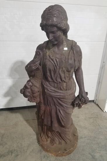 Large Cast Roman Style Garden Statue