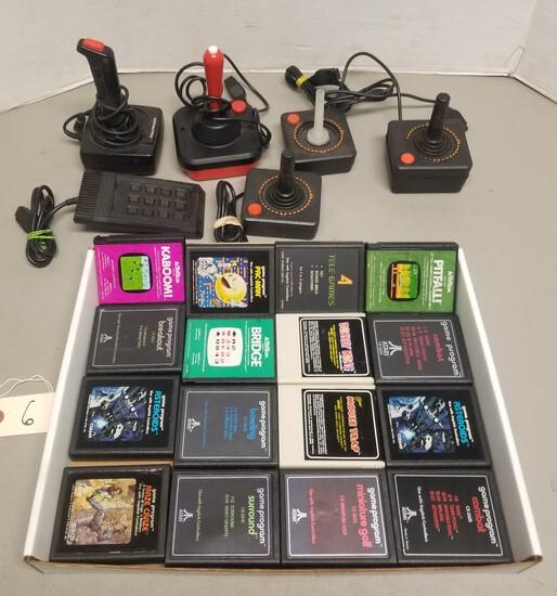 (16) Atari Games (5) Controllers