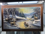 Abner Zook 3D Hunting Scene Painting 31