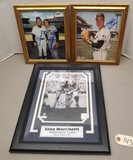 (3) Vintage Signed Sports Pictures