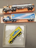 (5) Assorted Winross Collectable Trucks