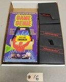 NES Game Genie & (11) Game Holders