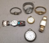 (7) Assorted Watches / Pocket Watches