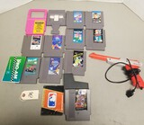 NES Assorted Games & Controller