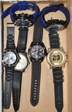 Large Mens watches, all watches sold as is