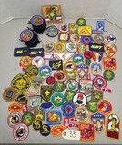 Large Vintage Boy Scout Patch Collection & More
