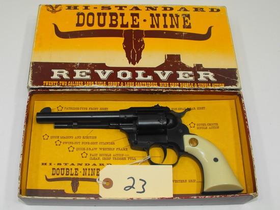 (R) High Standard W-104 Double Nine 22 Revolver